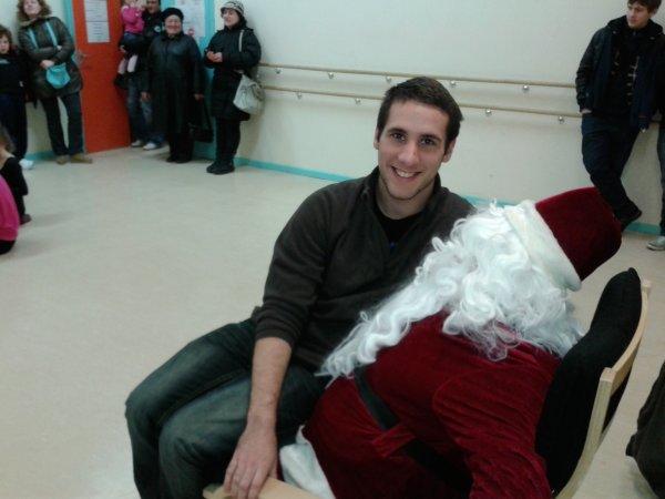 Visite du Père Noël décembre 2012