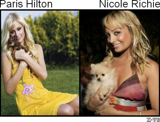 Paris Hilton V.S Nicole Richie