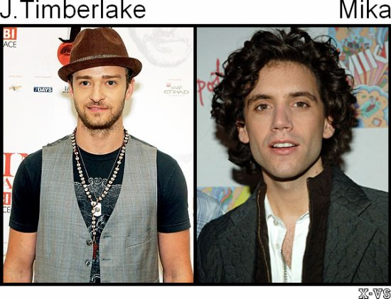 Justin Timberlake V.S Mika