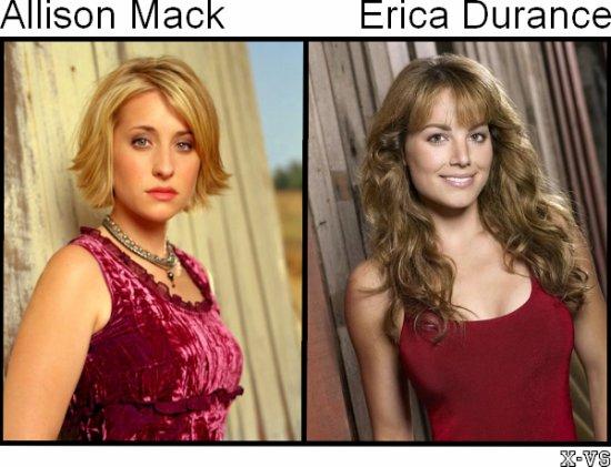 Allison Mack V.S Erica Durance