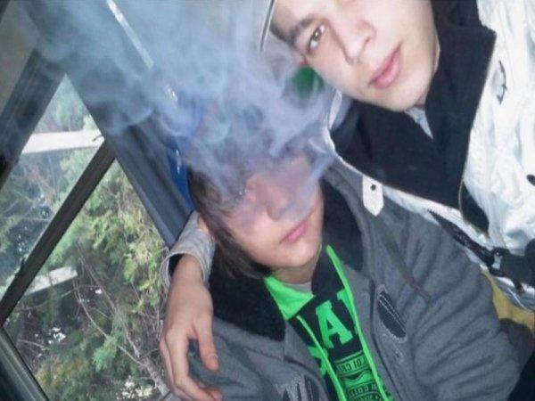 Moi et mon frère <3