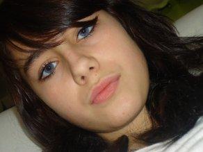 moi avec les yeux bleu