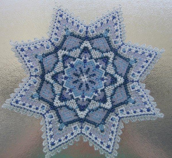 second napperon étoile