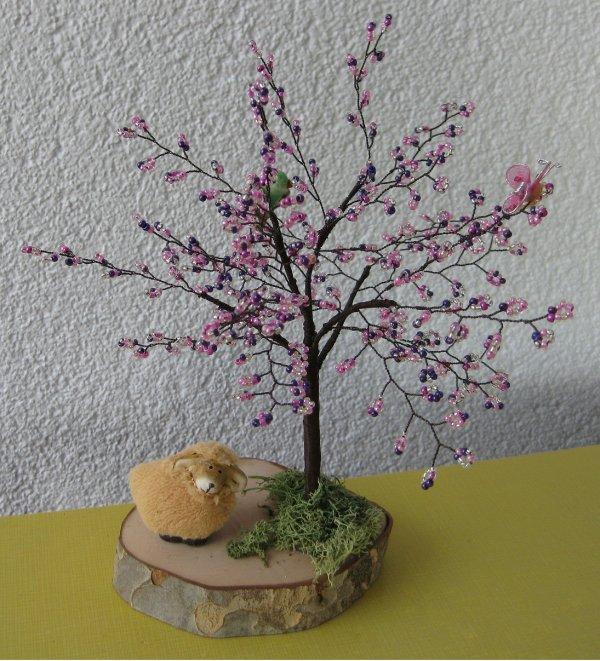 c'est le printemps !!! les arbres sont en fleurs !