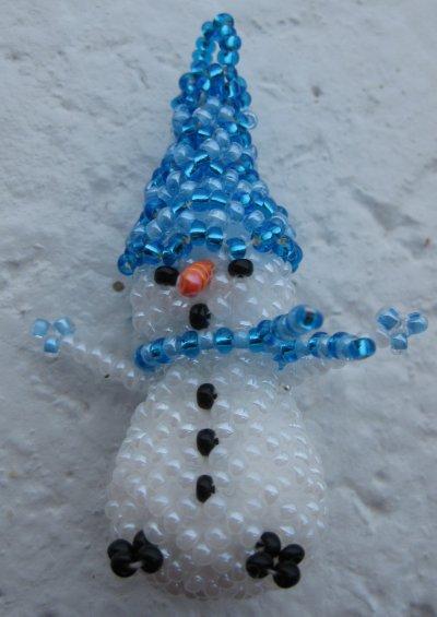 des bonshommes de neige
