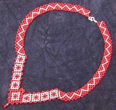 nouveau collier dentelle