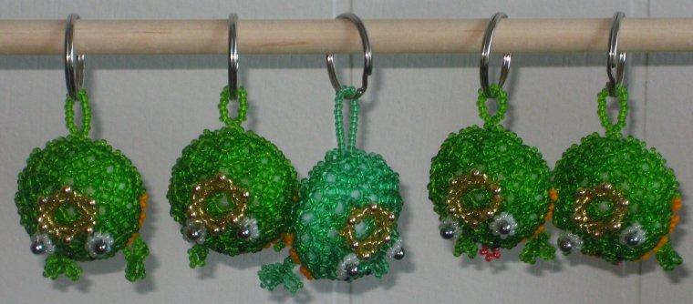 5 grenouilles