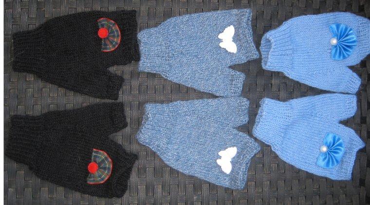 des tricots !
