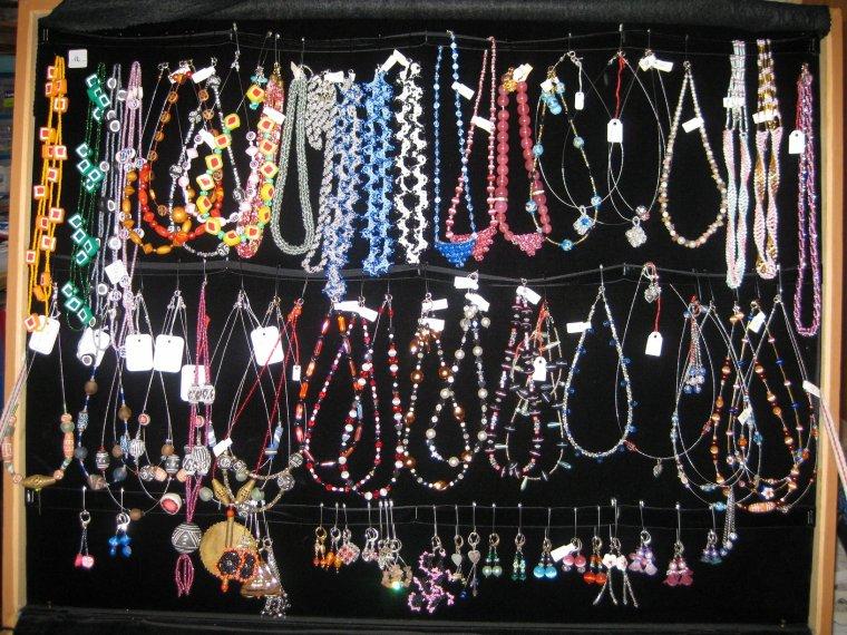 ma valise de présentation des bijoux