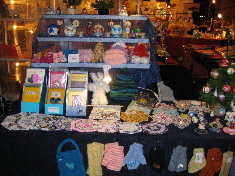 mon stand au marché de Cortaillod