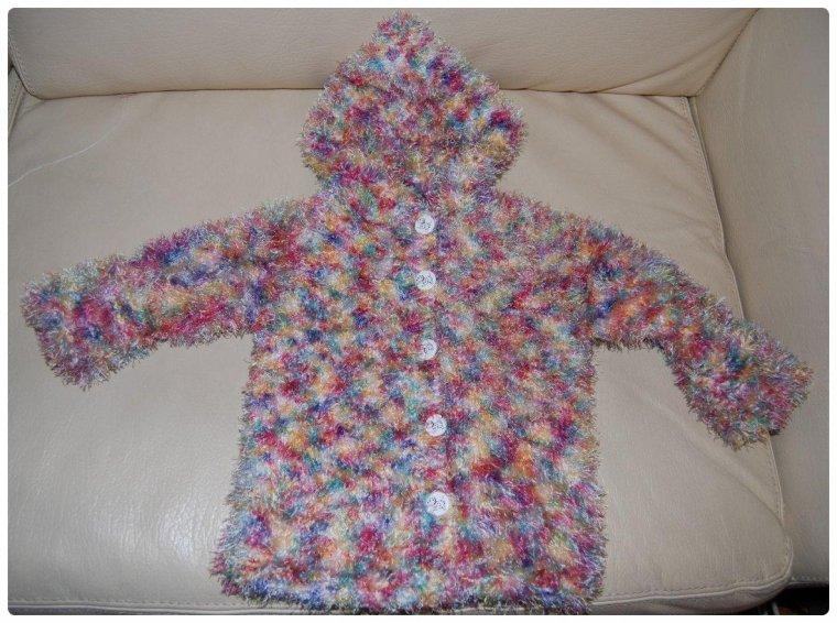 petit manteau pour bébé