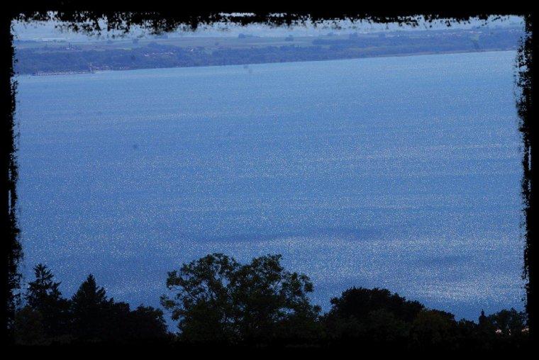 le lac est de toute beauté aujourd'hui !!!
