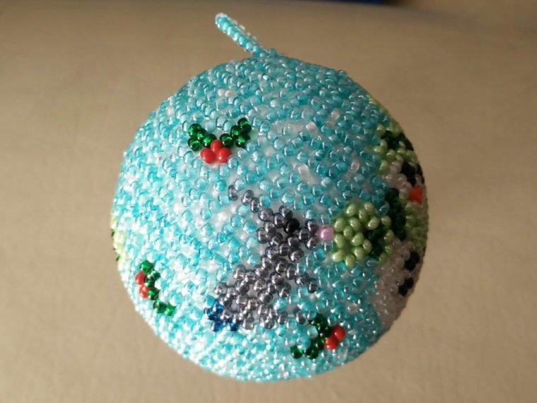 boule bonhomme de neige 6 cm