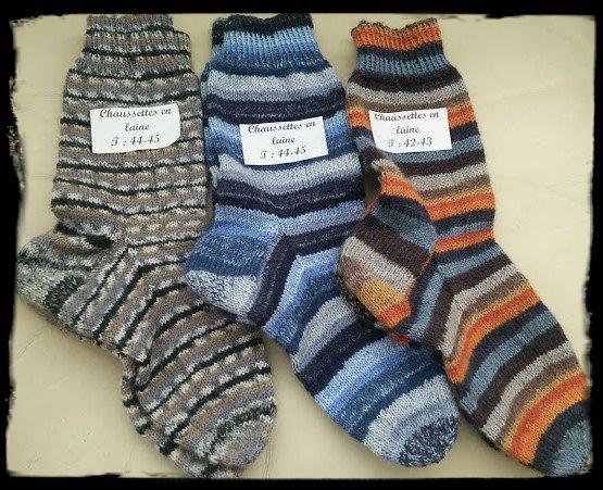 de nouvelles chaussettes