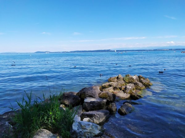 Promenade au bord du lac