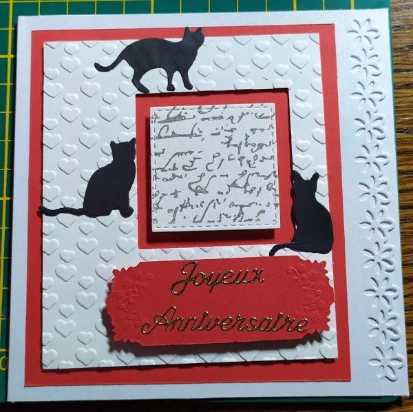cartes scrap anniversaire