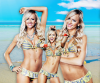 Summer Rae (2 grandes créations + 4 avatars 130x160 sur fond transparent)