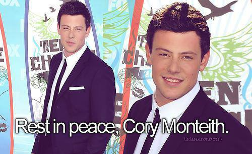 R.I.P cory we will miss you