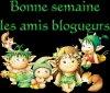 JE VOUS SOUHAITE UNE BONNE SEMAINE LES AMIES (IS)....GROS BISOUX....