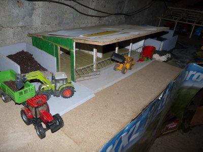la ferme en construction