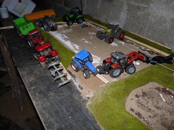 agrandisement de la ferme