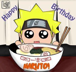 Happy Birthday Naruto !