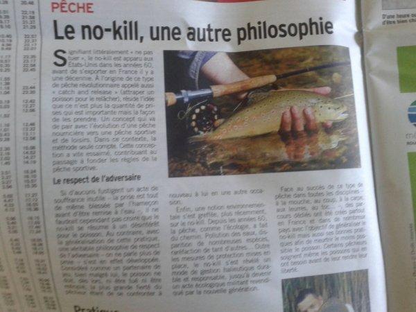 article sur le no kill ou catch and release :)