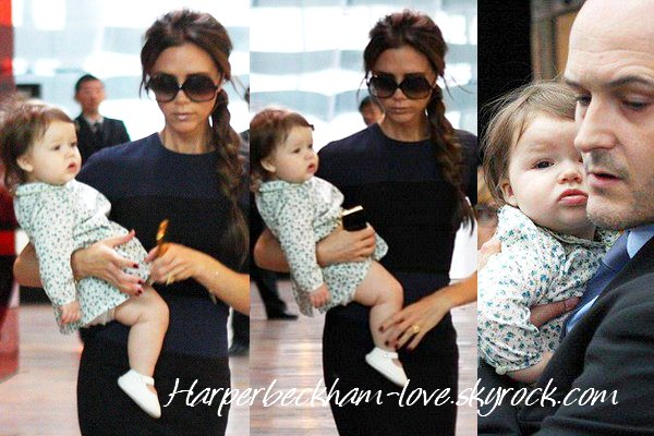 Harper avec sa maman en Chine
