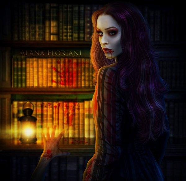 Bienvenue dans mon petit monde Vampire Demon et pourquoi Fée !!