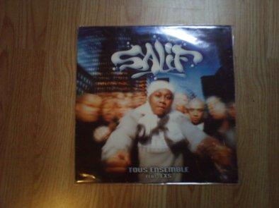 """Vinyle """"Tous ensemble"""" SALIF (2000) !!"""