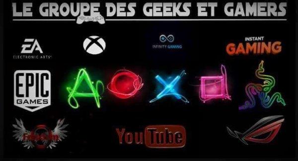 le Groupe Des Geeks et Gamers