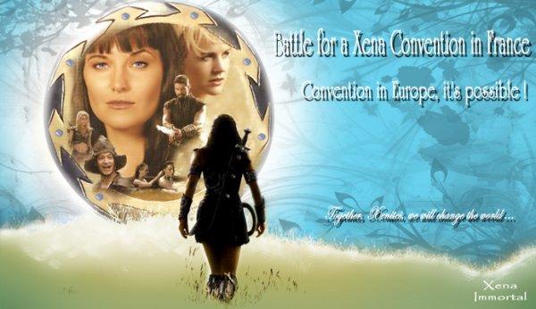 UNE  CONVENTION  XENA  EN  FRANCE