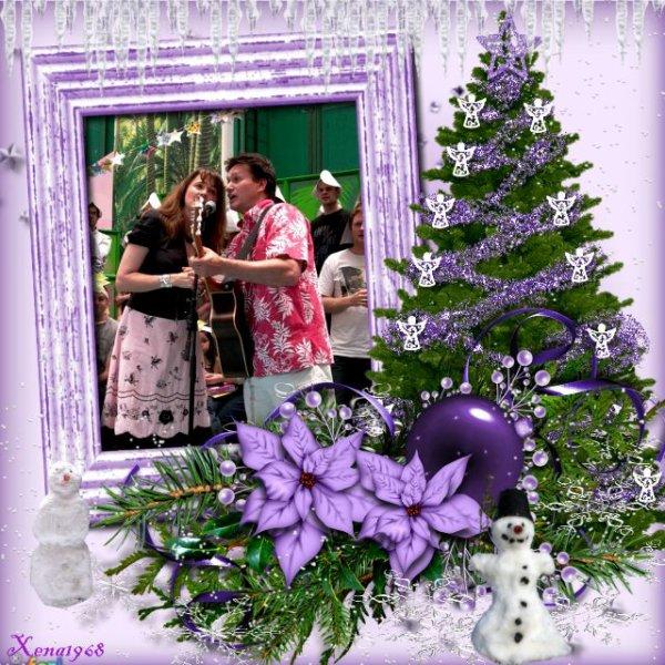 LUCY  A  LA  FÊTE  DE  NOËL  2010  DE  STARSHIP