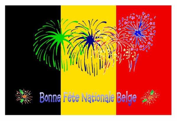 BONJOUR  ET  BONNE  FÊTE  NATIONALE  A  TOUS  LES  BELGES  2011