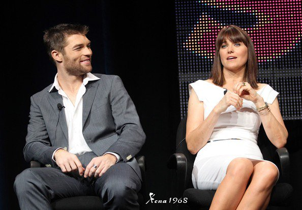 Lucy Lawless , Liam McIntyre