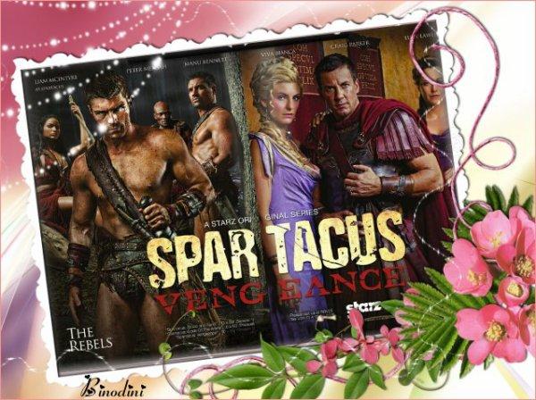 SPARTACUS  EN  NOVEMBRE  SUR  W 9  AVEC  LUCY  LAWLESS