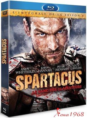 SPARTACUS : LA  SAISON  1  EN COFFRET DVD ET BLU-RAY  LE 1ER  FÉVRIER  2012