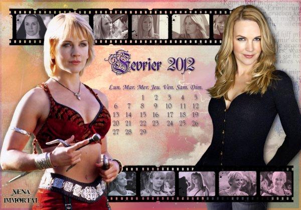 Calendriers du mois de Janvier & Février 2012 / Calendars January & February 2012