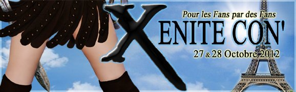 Extras en vente pour la Xenite Con' / Extras on sale for the Xenite Con'