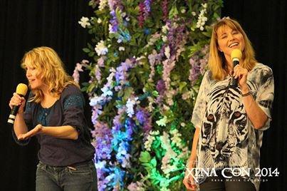 CONVENTION  DE  XENA  2014  AVEC  LUCY  LAWLESS  ET  RENÉE  O'CONNOR