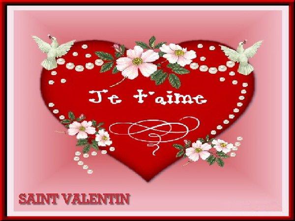 JOYEUSE  SAINT - VALENTIN  A  VOUS  TOUTES  ET  TOUS