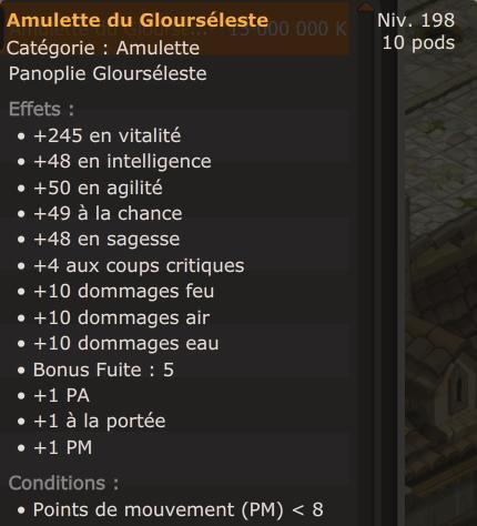 Amulette glourseleste