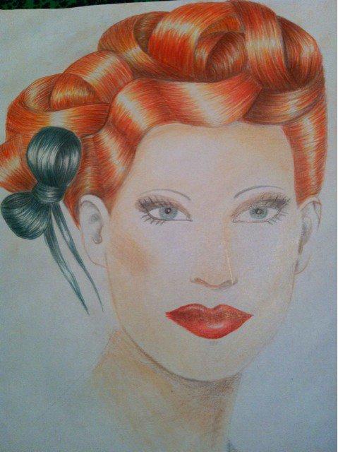 dessin coiffure 3