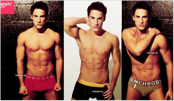 Voici 3 nouvelle photos (sexy) de Michael pour Bench Underwear ! #Edit