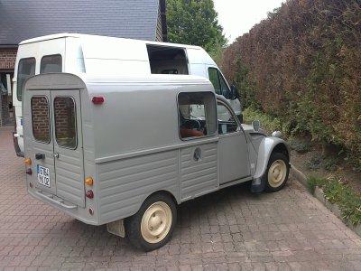2cv camionnette