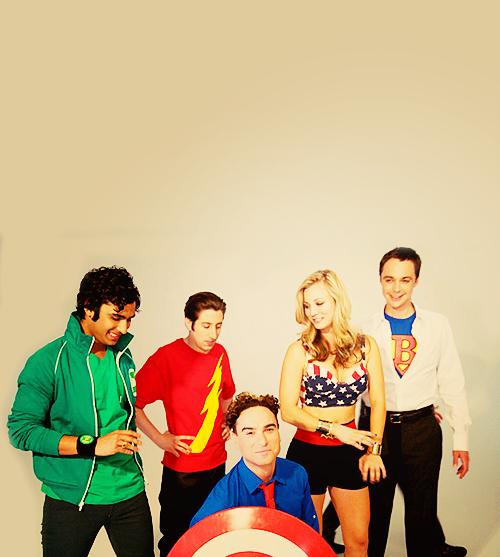 Les personnages principaux.