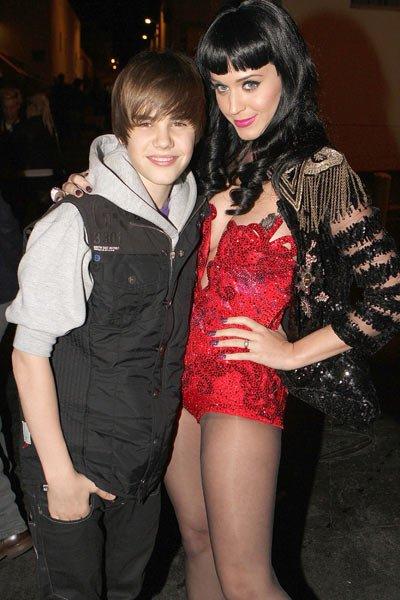 Justin Bieber et Rihanna et Katy Perry!