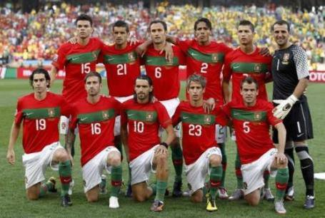 équipe du portugal
