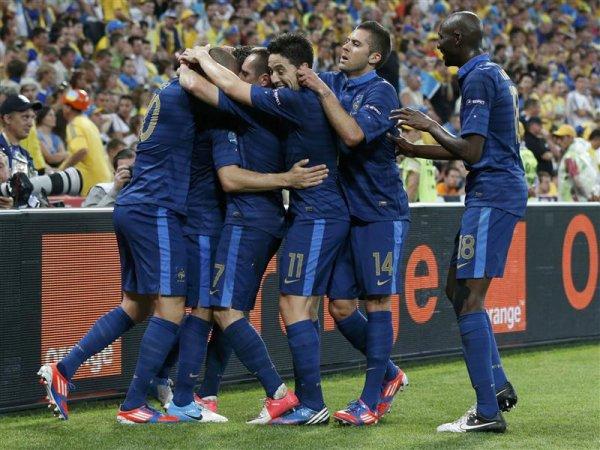 belle victoire de la france 2-1