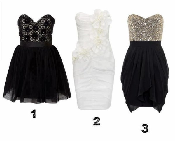 Les filles, quelles robes?